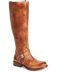 Bed Stu 'glaye' Tall Boot - Brown