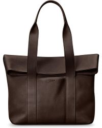 Shinola - Cass Dearborn Leather Tote - Lyst