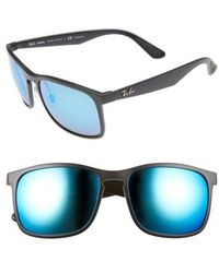 Ray-Ban | 58mm Polarized Sunglasses | Lyst