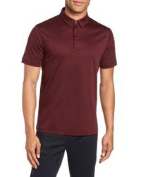 Calibrate - Clean Dressy Trim Fit Polo - Lyst