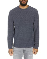 Saturdays NYC - Graham Jacquard Sweater - Lyst