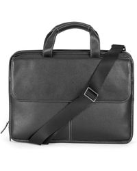 Boconi - Tyler Leather Briefcase - - Lyst
