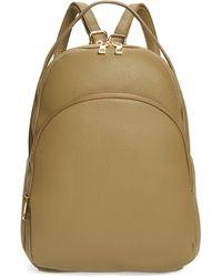 BP. Mini Faux Leather Backpack - Black