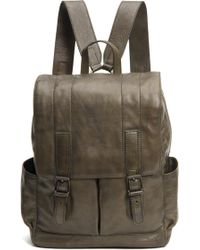 Frye - Oliver Leather Backpack - - Lyst