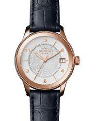 Shinola - Gail Leather Strap Watch - Lyst