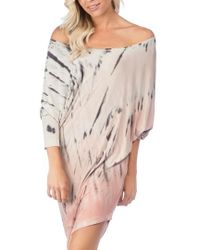 Green Dragon | Playa Watercolor Sateen Cover-up Dress | Lyst