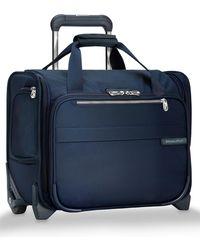 Briggs & Riley Baseline 14-inch Wheeled Cabin Bag - Blue
