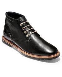 Cole Haan Raymond Grand Water Resistant Chukka Boot - Black