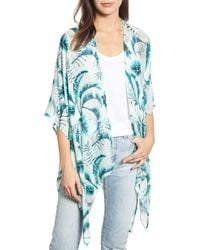 Echo - Palm Leaf Cover-up - Lyst