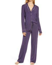 Nordstrom Moonlight Pajamas - Purple