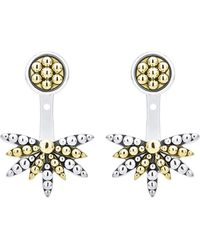 Lagos - Signature Caviar Sunburst Ear Jackets - Lyst