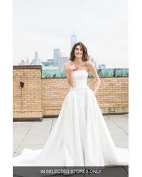 Ines by Ines Di Santo - Madi Beaded Strapless Wedding Dress - Lyst