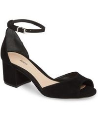Schutz - Roama Block Heel Sandal - Lyst