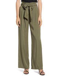 Chelsea28 Tie Waist Pants - Green