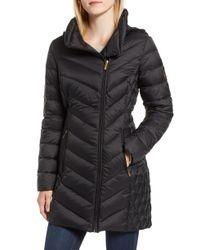 MICHAEL Michael Kors - Packable Down Hooded Jacket - Lyst