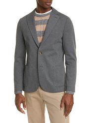 Eleventy - Slim Fit Jersey Sport Coat - Lyst