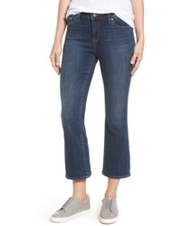 Vince Camuto Two By Cropped Flare Jeans - Blue