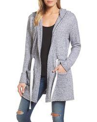 Caslon - Caslon Drawstring Hooded Jacket - Lyst