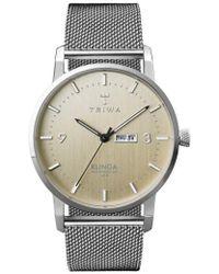 Triwa   Klinga Mesh Strap Watch   Lyst