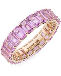 SHAY Pink Sapphire Eternity Band