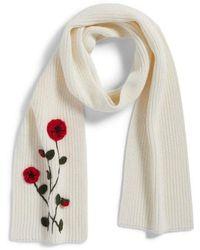 Kate Spade - Crochet Poppy Scarf - Lyst