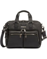Tumi Alpha Bravo Albany Slim Briefcase - Gray