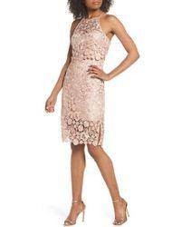 Jenny Yoo - Freya Lace Sheath Dress - Lyst
