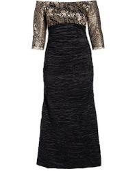 Alex Evenings - Off Shoulder Empire Waist Gown - Lyst