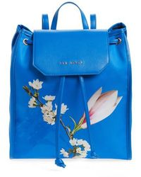 Ted Baker - Baileee Harmony Print Backpack - Lyst