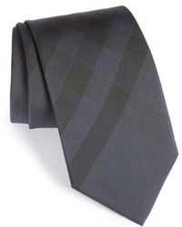 Burberry - Exploded Scale Check Silk Tie - Lyst