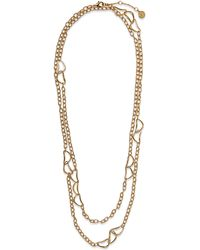 Vince Camuto - Layered Chain Necklace - Lyst