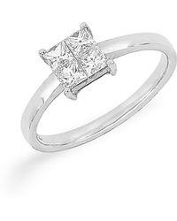 Bony Levy - Princess Cut Diamond Ring (nordstrom Exclusive) - Lyst