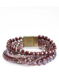 Serefina - Beaded Bracelet - Lyst