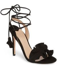 Tony Bianco | Kalipso Ruffled Wraparound Sandal | Lyst