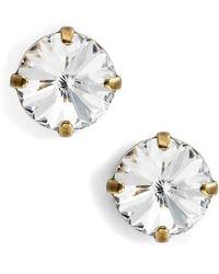 Sorrelli - Radiant Rivoli Crystal Earrings - Lyst