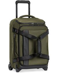 Briggs & Riley Zdx 21-inch Carry-on Upright Duffle Bag - Green