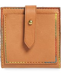 Madewell The Post Bifold Leather Wallet