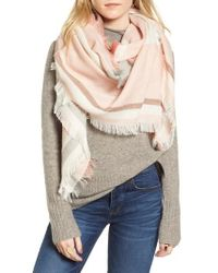 Madewell - Colorblock Blanket Scarf - Lyst