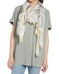 Nordstrom Gauzy Silk Scarf - Multicolor