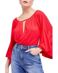 Free People - Last Time Top - Lyst
