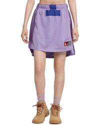 Nike Lab Collection Women's Football Skirt - Purple