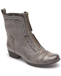 Cobb Hill - Gratasha Front Zip Boot - Lyst