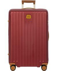 Bric's Capri 2.0 27-inch Expandable Rolling Suitcase - Multicolour