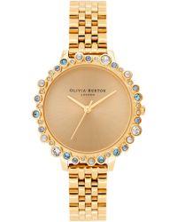 Olivia Burton - Bejewelled Under The Sea Bubble Bracelet Watch - Lyst