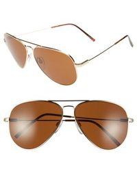 Electric - 'av1 Xl' 62mm Aviator Sunglasses - Lyst