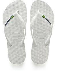 Havaianas - Slim Brazil Flip Flop - Lyst