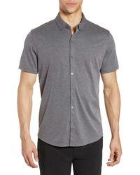 Zachary Prell - Caruth Regular Fit Short Sleeve Shirt - Lyst