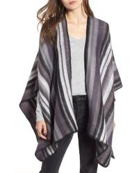 Treasure & Bond - Stripe Blanket Wrap - Lyst