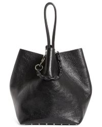 Alexander Wang - Large Roxy Covered Chain Leather Bucket Bag - Lyst
