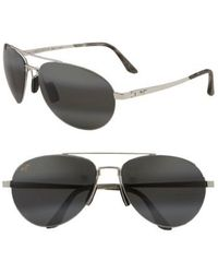 Maui Jim - 'pilot - Polarizedplus2' 63mm Sunglasses - Lyst
